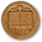 john newbery medal awarded to virginia hamilton