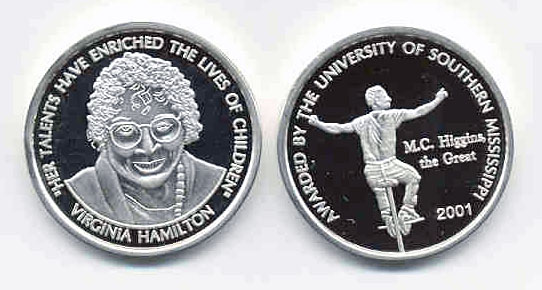 De Grummond 2001 Award Medal